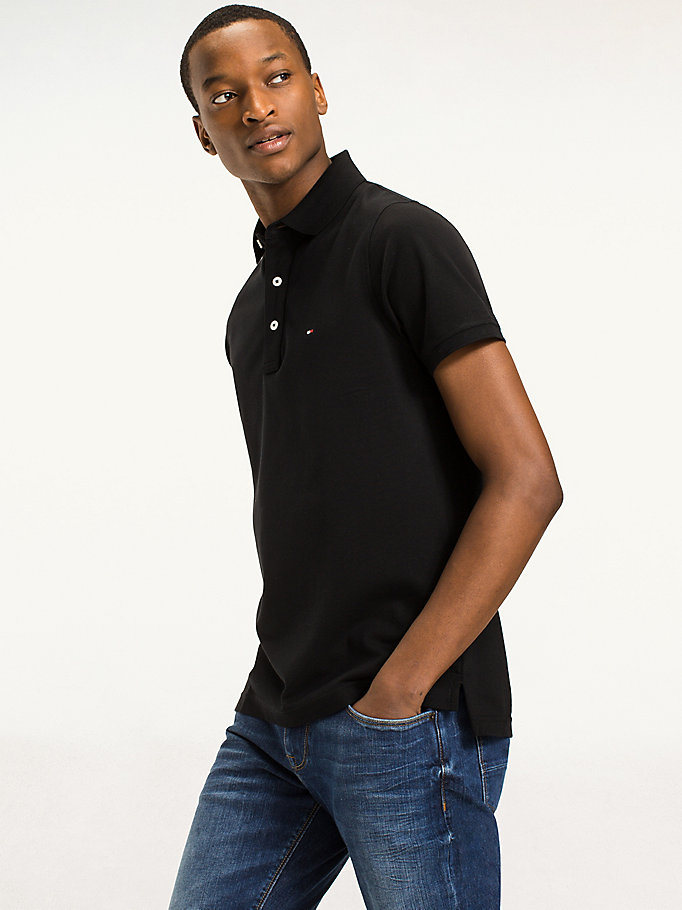 TOMMY HILFIGER Polo coupe slim - CLOUD HTR - TOMMY HILFIGER Hommes - image principale
