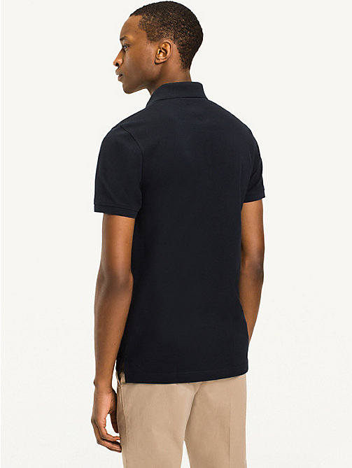 TOMMY HILFIGER Slim Fit Polo - SKY CAPTAIN - TOMMY HILFIGER Basics - detail image 1