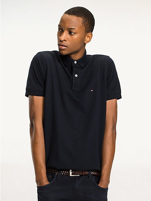 TOMMY HILFIGER Tommy Slim Fit Polo - SKY CAPTAIN - TOMMY HILFIGER Basics - main image