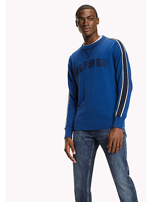 TOMMY HILFIGER Logo Jumper - LIMOGES - TOMMY HILFIGER Jumpers - main image