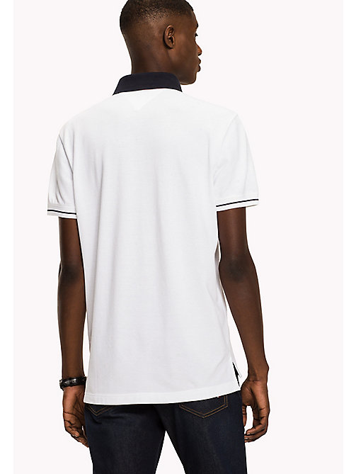 TOMMY HILFIGER 1985 Classic Regular Fit Polo - BRIGHT WHITE - TOMMY HILFIGER T-Shirts & Polos - detail image 1