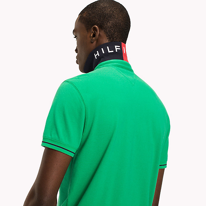 TOMMY HILFIGER 1985 Classic Regular Fit Polo - CLOUD HTR - TOMMY HILFIGER Men - detail image 2