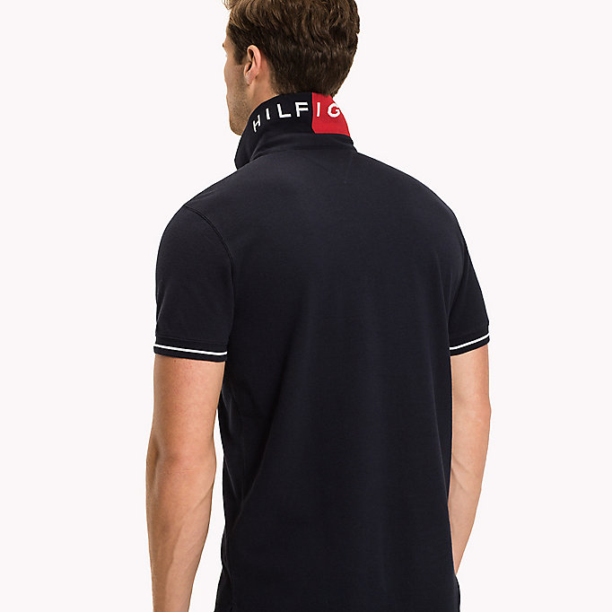 TOMMY HILFIGER 1985 Classic Regular Fit Polo - REGATTA - TOMMY HILFIGER Men - detail image 2