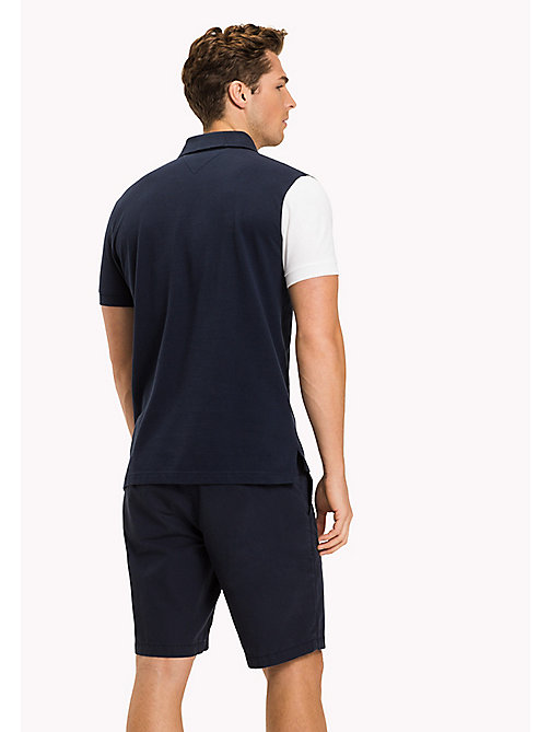TOMMY HILFIGER Vintage Slim Fit Polo Shirt - NAVY BLAZER - TOMMY HILFIGER NEW IN - detail image 1