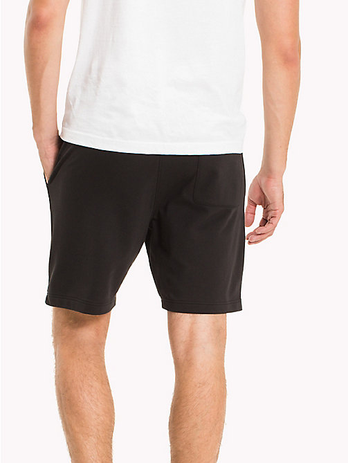 TOMMY HILFIGER Lightweight Regular Fit Sweatshorts - JET BLACK - TOMMY HILFIGER Shorts - main image 1