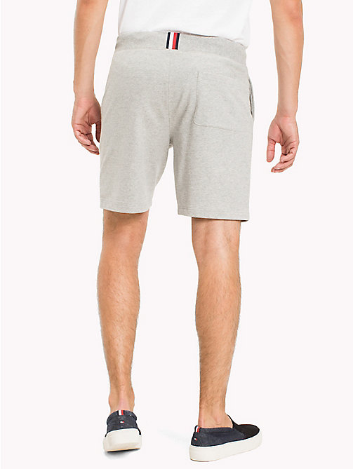 TOMMY HILFIGER Lightweight Regular Fit Sweatshorts - CLOUD HTR - TOMMY HILFIGER Trousers & Shorts - detail image 1