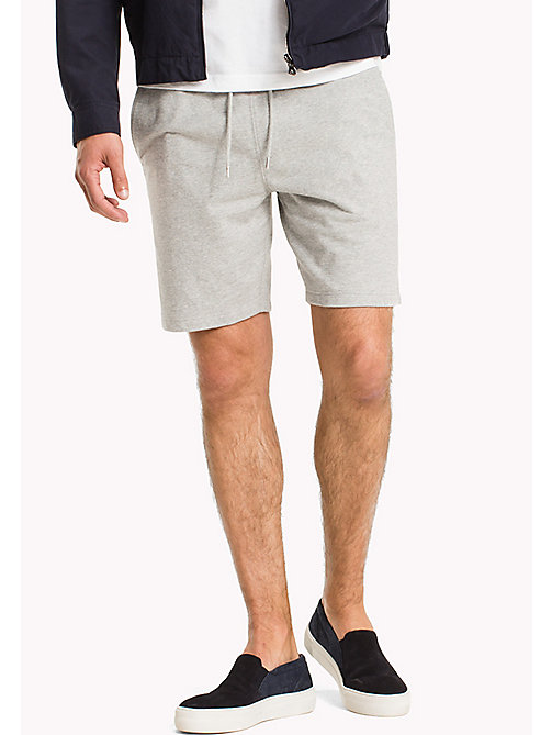 TOMMY HILFIGER Lightweight Regular Fit Sweatshorts - CLOUD HTR - TOMMY HILFIGER Trousers & Shorts - main image