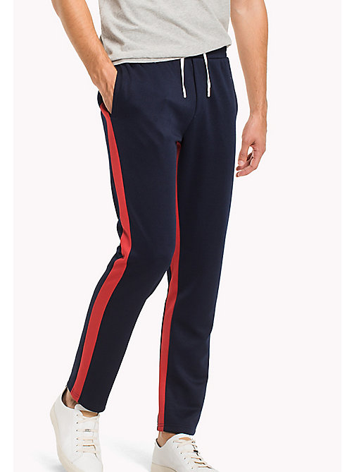 TOMMY HILFIGER Tapered Fit Sweatpants - NAVY BLAZER - TOMMY HILFIGER TOMMY'S PADDOCK - main image