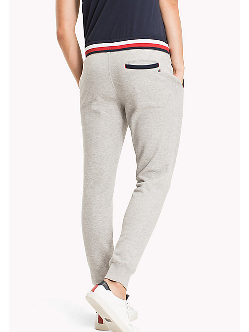 TOMMY HILFIGER Relaxed Joggers - CLOUD HTR - TOMMY HILFIGER Sweatpants - detail image 1