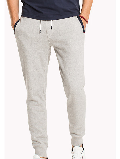 TOMMY HILFIGER Relaxed Joggers - CLOUD HTR - TOMMY HILFIGER Sweatpants - main image