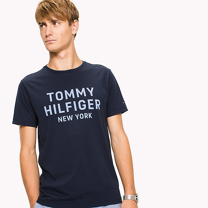 TOMMY HILFIGER Logo Print T-Shirt - BRIGHT WHITE - TOMMY HILFIGER Clothing - detail image 2