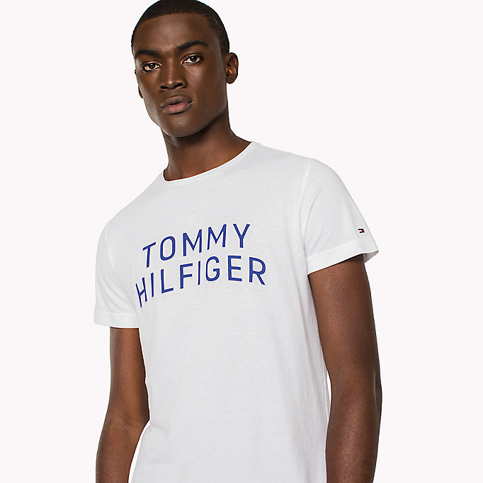 TOMMY HILFIGER Logo Initials Regular Fit T-Shirt - SODALITE BLUE - TOMMY HILFIGER Clothing - detail image 2