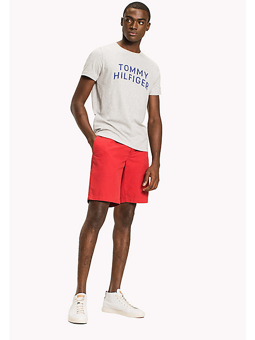 TOMMY HILFIGER T-shirt à logo initiale coupe standard - CLOUD HTR - TOMMY HILFIGER Sustainable Evolution - image principale