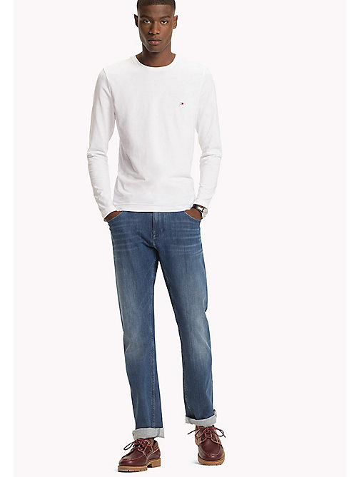 TOMMY HILFIGER Long Sleeve T-Shirt - BRIGHT WHITE - TOMMY HILFIGER TOMMY'S PADDOCK - main image