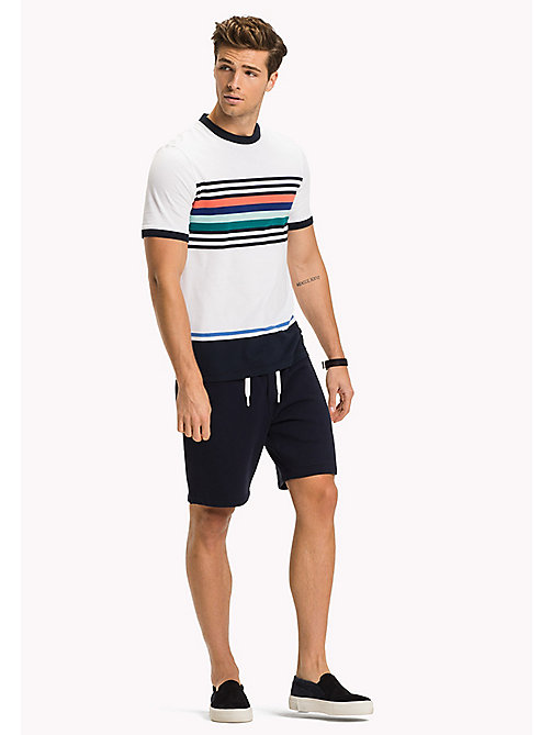 TOMMY HILFIGER Regular Fit T-Shirt mit Streifen - BRIGHT WHITE - TOMMY HILFIGER T-Shirts - main image