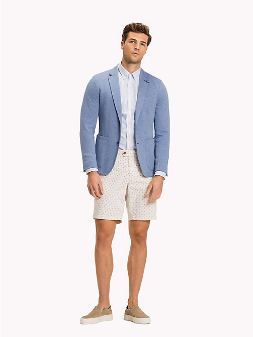 TOMMY HILFIGER Tailored Slim Fit Blazer - SODALITE BLUE - TOMMY HILFIGER Vacation Style - main image