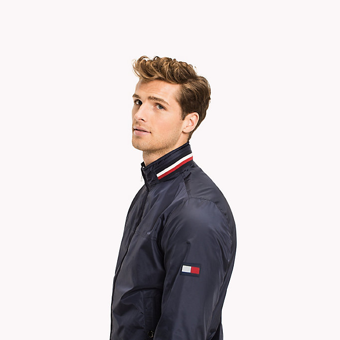 TOMMY HILFIGER Lightweight Bomber Jacket - HAUTE RED - TOMMY HILFIGER Men - detail image 3