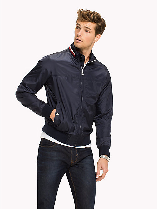 TOMMY HILFIGER Lightweight Bomber Jacket - NAVY BLAZER - TOMMY HILFIGER NEW IN - main image
