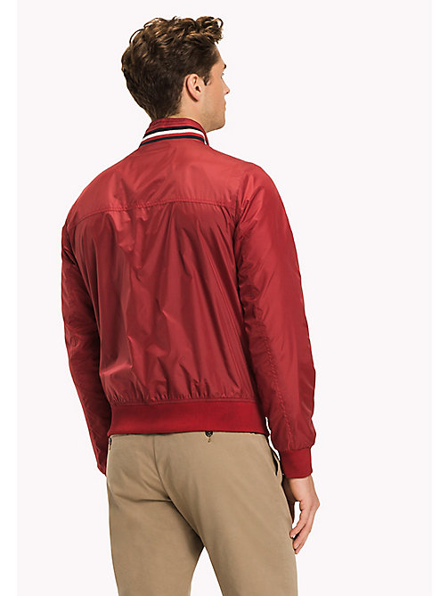 TOMMY HILFIGER Lightweight Bomber Jacket - HAUTE RED - TOMMY HILFIGER Clothing - detail image 1