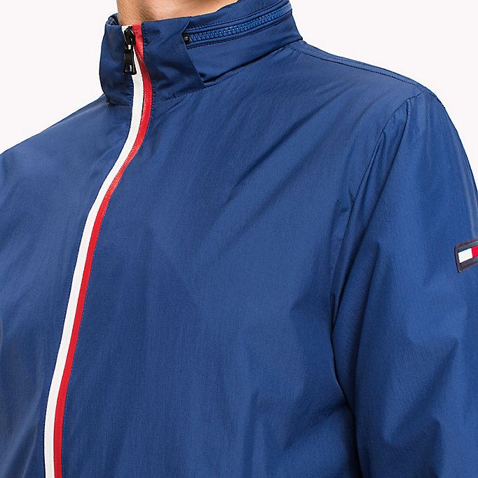 Lightweight Zip Up Windbreaker | BLUE | Tommy Hilfiger