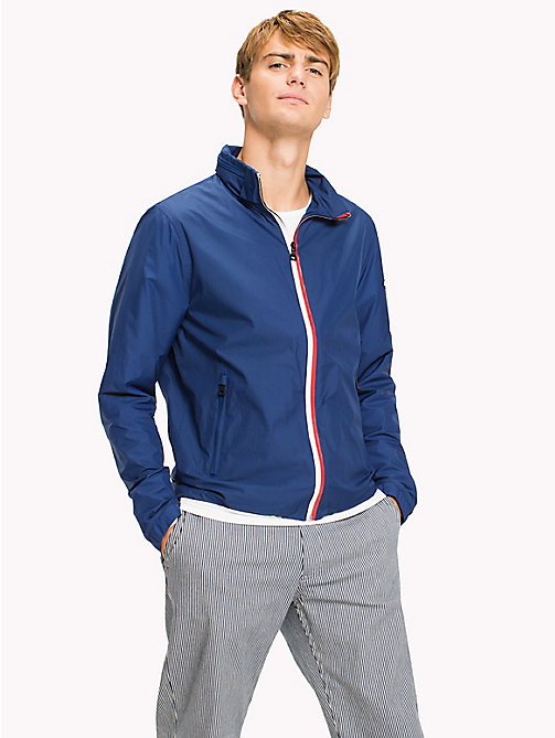 TOMMY HILFIGER Lightweight Zip Up Windbreaker - LIMOGES - TOMMY HILFIGER Clothing - main image