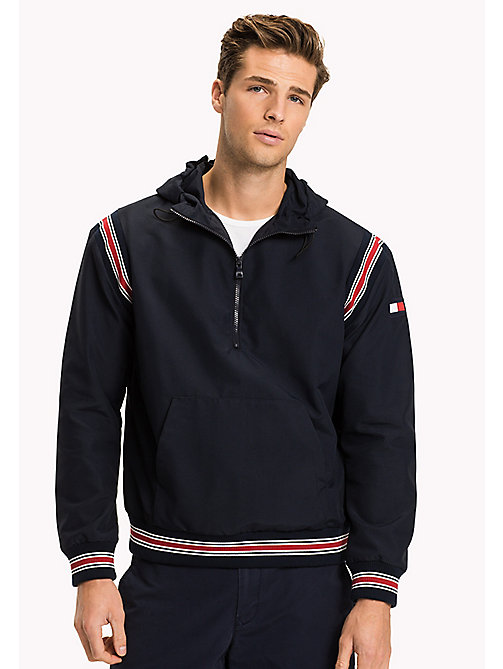 TOMMY HILFIGER Anorak Removable Sleeves - NAVY BLAZER - TOMMY HILFIGER Clothing - main image