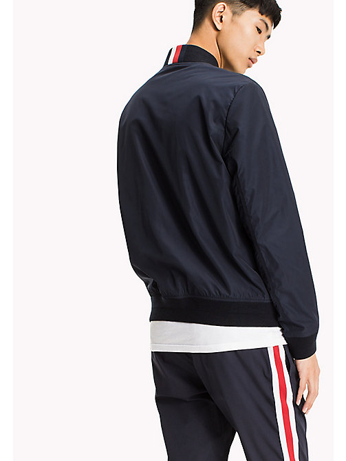 TOMMY HILFIGER Lightweight Bomber Jacket - SKY CAPTAIN - TOMMY HILFIGER Men - detail image 1