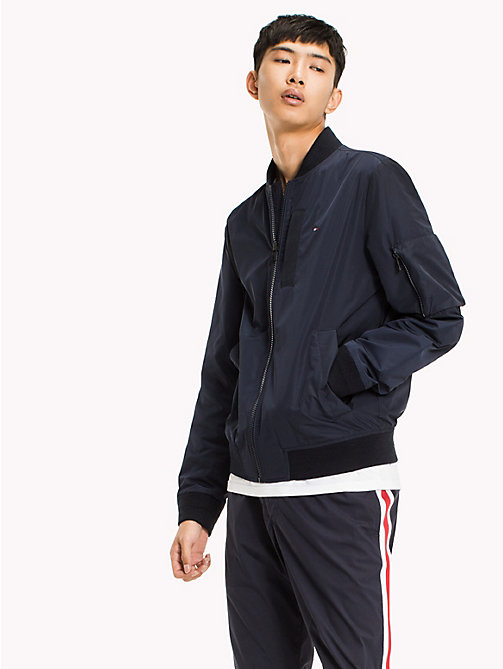 TOMMY HILFIGER Lightweight Bomber Jacket - SKY CAPTAIN - TOMMY HILFIGER Clothing - main image