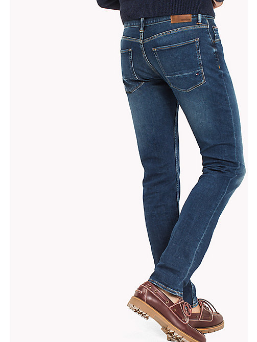 TOMMY HILFIGER Faded Slim Fit Jeans - KEARNY INDIGO - TOMMY HILFIGER Slim-Fit Jeans - detail image 1