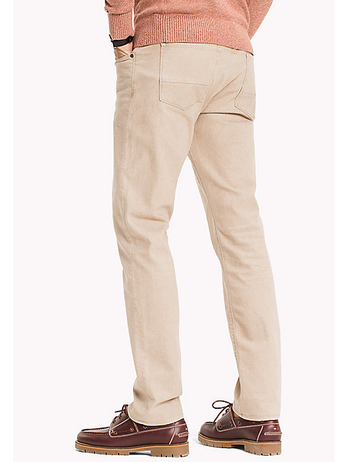 TOMMY HILFIGER Denton Straight Fit Jeans - TEMPE BEIGE - TOMMY HILFIGER Straight-Fit Jeans - detail image 1