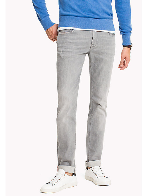 TOMMY HILFIGER Straight Fit Jeans - PROVIDENCE GREY - TOMMY HILFIGER Straight-Fit Jeans - main image