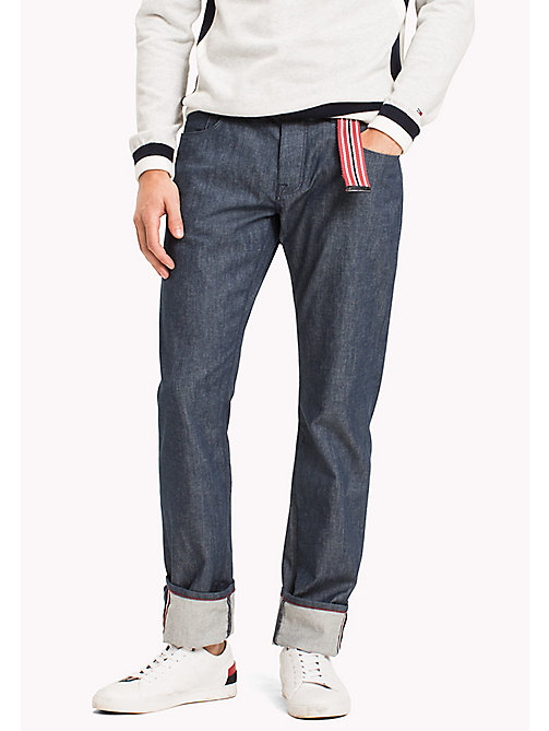 TOMMY HILFIGER Denton Straight Fit Jeans - PARKER RAW - TOMMY HILFIGER Clothing - main image