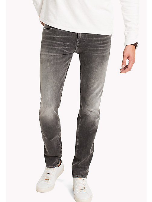 TOMMY HILFIGER Bleecker Slim Fit Jeans - CHANDLER GREY - TOMMY HILFIGER Slim-Fit Jeans - main image