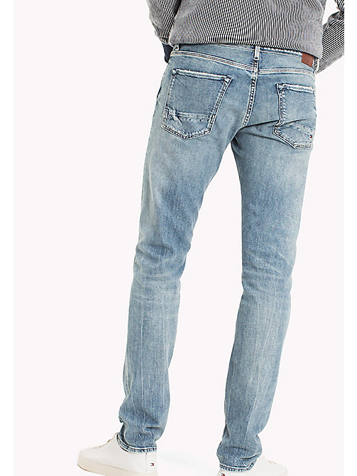 TOMMY HILFIGER Straight Fit Selvedge Jeans - TUSAYAN SELVEDGE - TOMMY HILFIGER Прямые Джинсы - подробное изображение 1