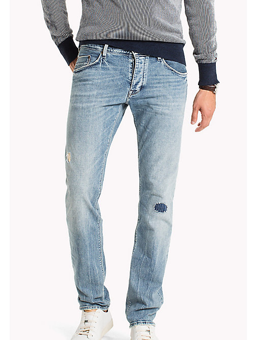 TOMMY HILFIGER Straight Fit Selvedge Jeans - TUSAYAN SELVEDGE - TOMMY HILFIGER Прямые Джинсы - главное изображение