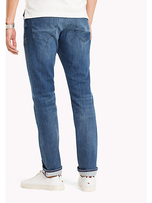 TOMMY HILFIGER Denton Faded Straight Fit Jeans - BUCKEYE BLUE - TOMMY HILFIGER Clothing - detail image 1