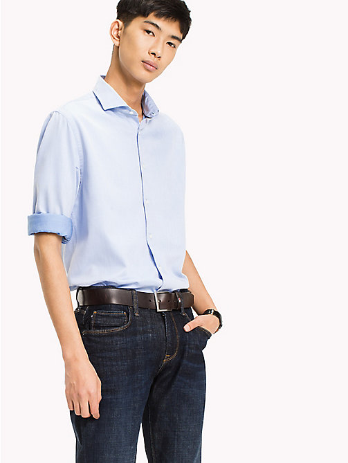 TOMMY HILFIGER Two-Tone Regular Fit Shirt - SHIRT BLUE / BRIGHT WHITE - TOMMY HILFIGER Shirts - detail image 1