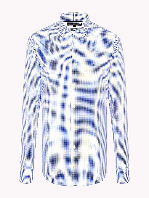 TOMMY HILFIGER Check Slim Fit Shirt - MARITIME BLUE / MULTI - TOMMY HILFIGER Clothing - main image