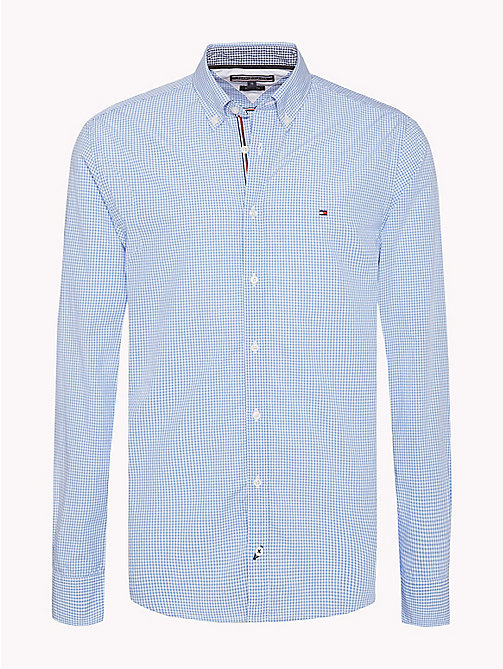TOMMY HILFIGER Check Regular Fit Shirt - SHIRT BLUE / BRIGHT WHITE - TOMMY HILFIGER Casual Shirts - main image