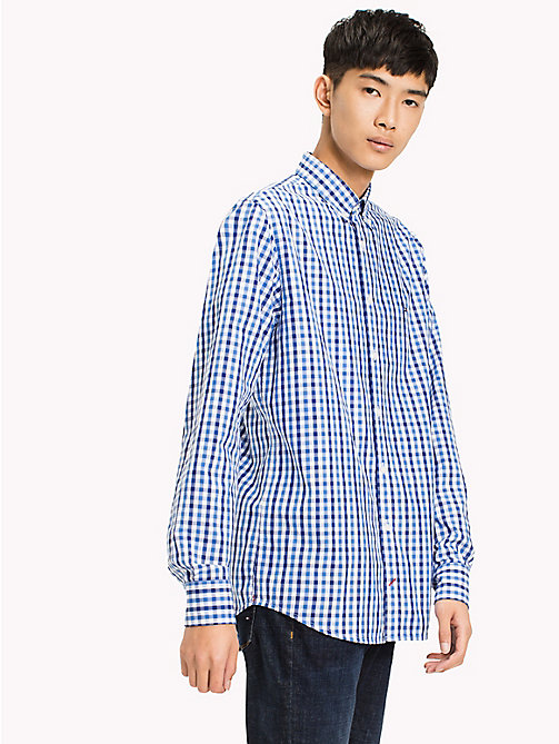 TOMMY HILFIGER Multi-Colour Gingham Regular Fit Shirt - REGATTA / SODALITE BLUE / BW - TOMMY HILFIGER Casual Shirts - detail image 1