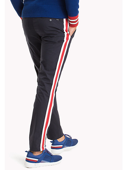TOMMY HILFIGER Stripe Trackpants - NAVY BLAZER - TOMMY HILFIGER Clothing - detail image 1