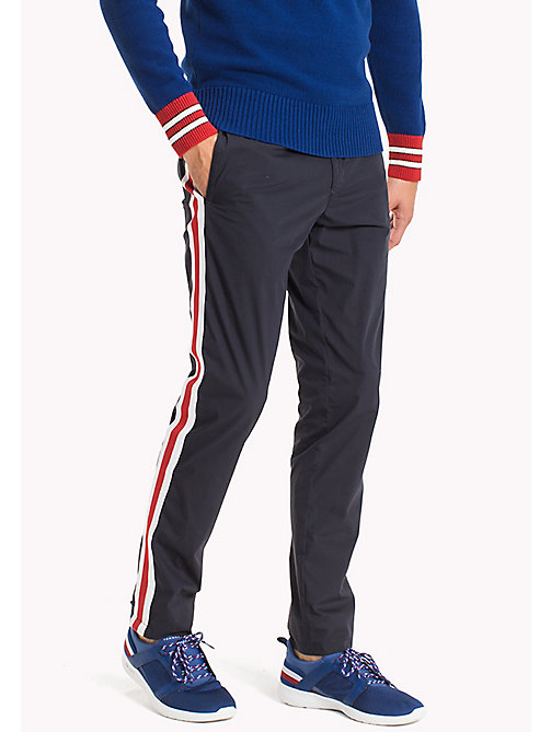 TOMMY HILFIGER Stripe Trackpants - NAVY BLAZER - TOMMY HILFIGER Clothing - main image