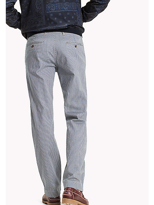 TOMMY HILFIGER Stripe Wide Fit Chinos - NAVY BLAZER - TOMMY HILFIGER Новинки - подробное изображение 1