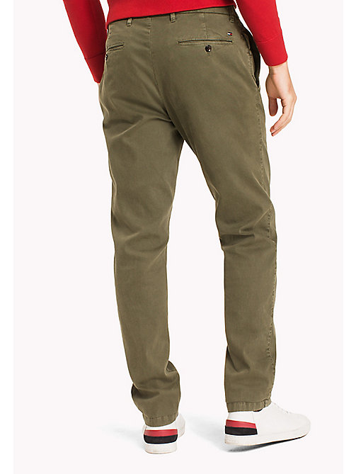 TOMMY HILFIGER Chino Bleecker coupe slim - FOUR LEAF CLOVER - TOMMY HILFIGER Vetements - image détaillée 1