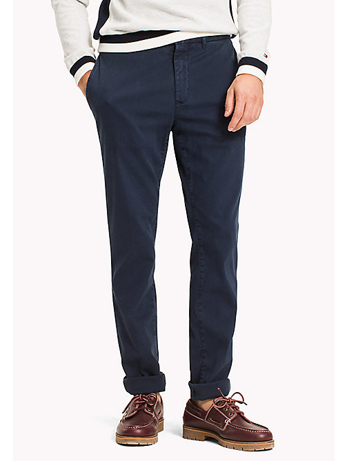 TOMMY HILFIGER Bleecker Slim Fit Chinos - NAVY BLAZER - TOMMY HILFIGER Chinos - main image