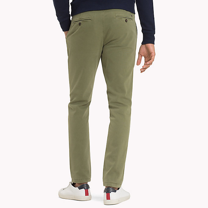 TOMMY HILFIGER Denton Chinos - NAVY BLAZER - TOMMY HILFIGER Clothing - detail image 1
