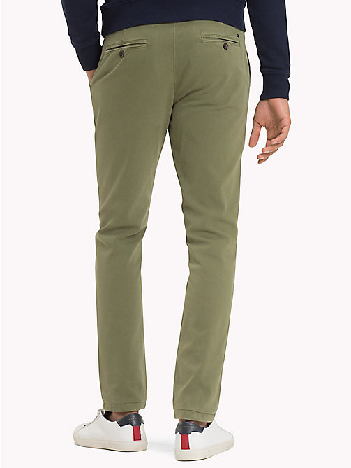 TOMMY HILFIGER Denton Chinos - FOUR LEAF CLOVER - TOMMY HILFIGER Chinos - detail image 1