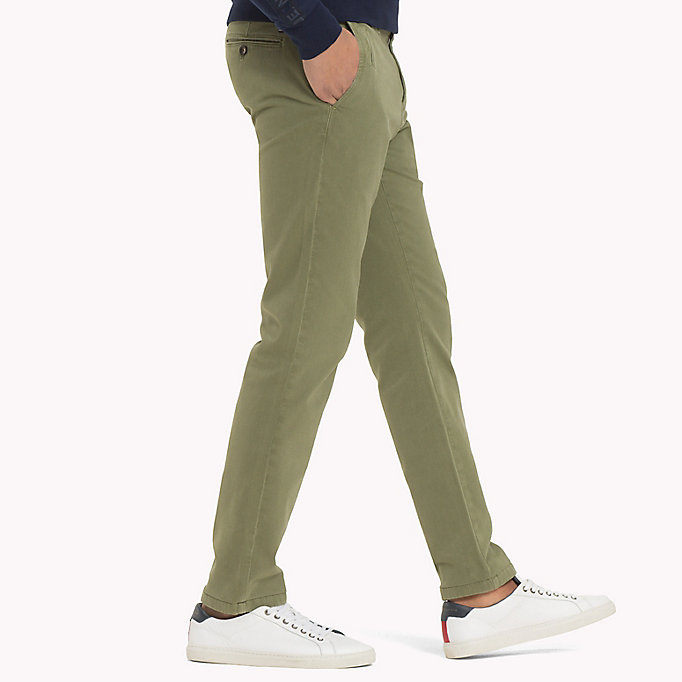 TOMMY HILFIGER Denton Chinos - NAVY BLAZER - TOMMY HILFIGER Clothing - detail image 2