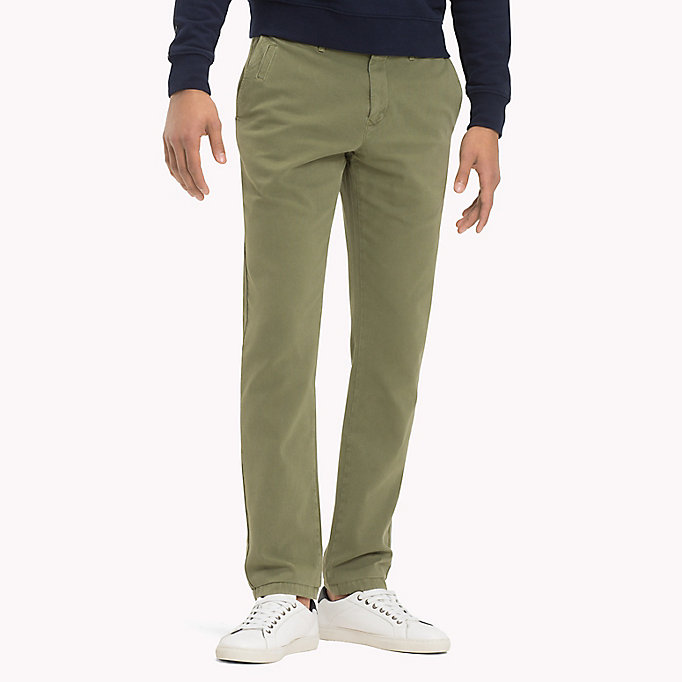 TOMMY HILFIGER Denton Chinos - NAVY BLAZER - TOMMY HILFIGER Men - main image