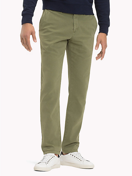 TOMMY HILFIGER Denton Chinos - FOUR LEAF CLOVER - TOMMY HILFIGER Chinos - main image